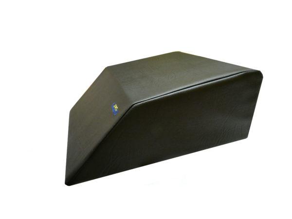 cuscino elevatore nero similpelle