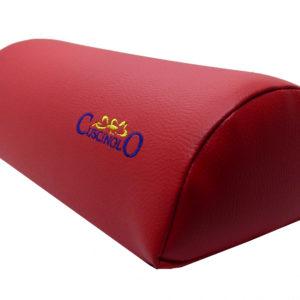 cuscino multifunzione rosso similpelle